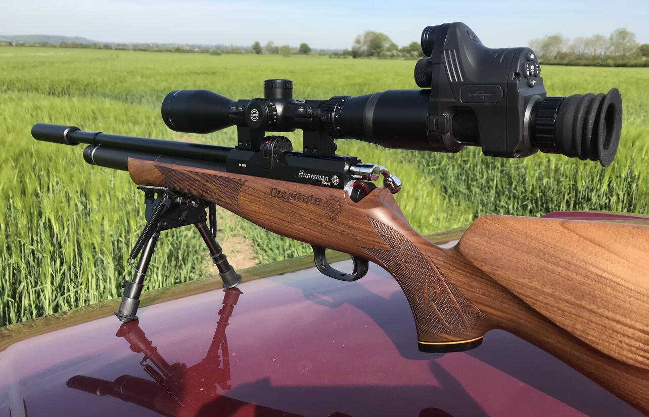 PARD NV007+Solaris SRX the night vision add-on best combo for your rifle scope